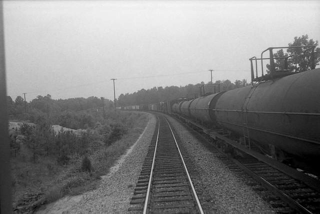 Riding Amtrak, ca. 1978