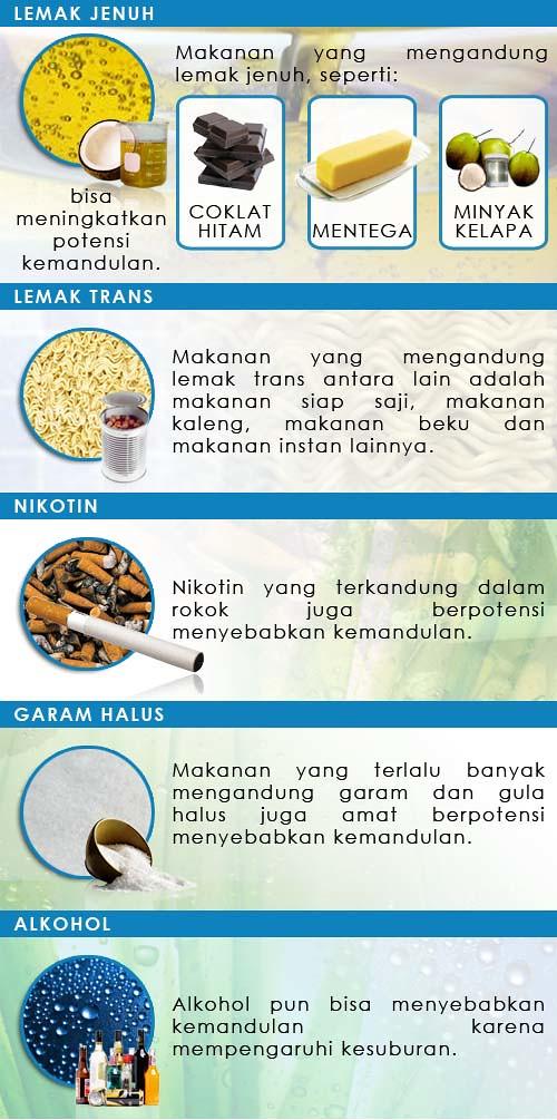 10 Bahan Makanan bikin Mandul 2