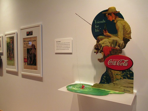 American Originals: Norman Rockwell & Coca-Cola exhibit through May 2014 at the World of Coca-Cola