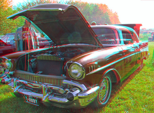 cars graffiti stereoscopic stereophoto anaglyph iowa nights anaglyphs onawa 0615 redcyan 3dimages 3dphoto 3dphotos 3dpictures stereopicture
