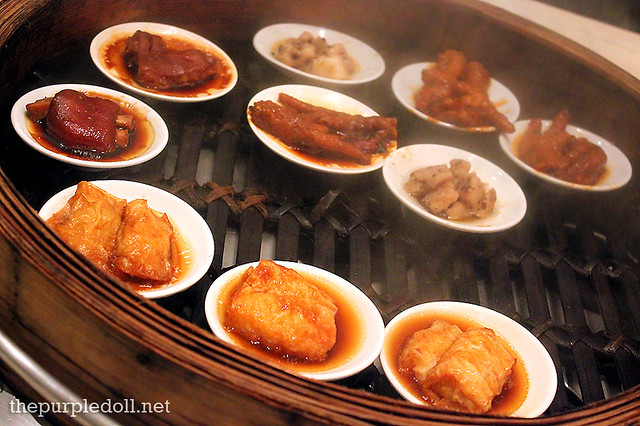 Chinese Dimsum Steam Baskets at Spiral Sofitel