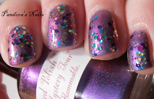 i love nail polish Babes in Toyland over enchanted polish Magical Mystery tour (3)