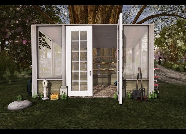 The Home Show - L'aize Dayz - LD Mesh Garden Shed - garden v3
