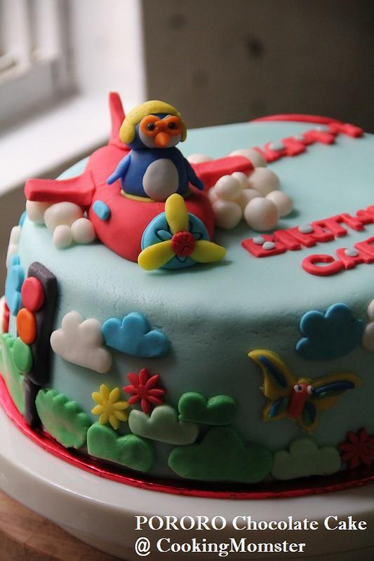 PORORO Choco Cake a