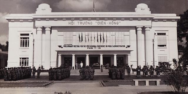 SAIGON 1958 - Hội trường Diên Hồng
