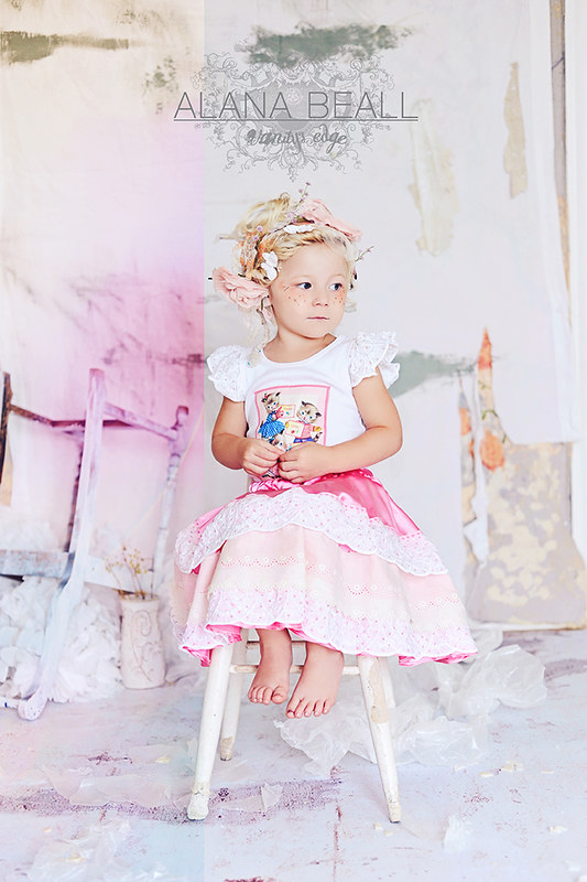 Three Little Kittens and Amelie Jo Vintage Inspired Kids Apparel