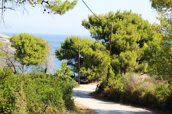 Perivoliou beach, Skopelos