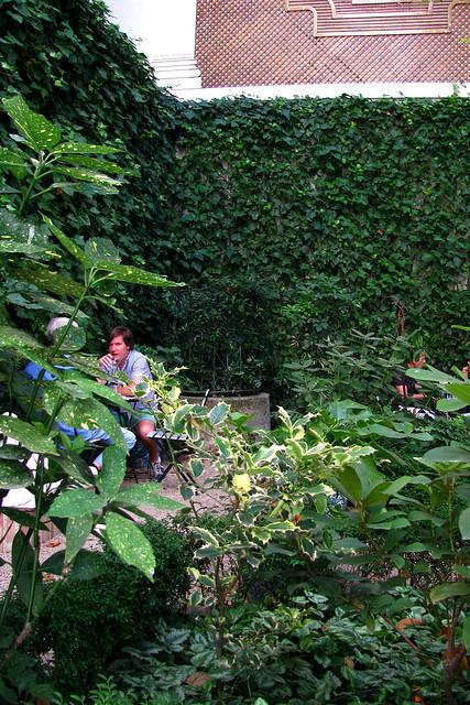 Caf del jard n del museo del romanticismo 2 flickr for Cafe el jardin madrid