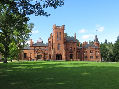 castle estonia estland sangaste sangasteloss sangastecastle
