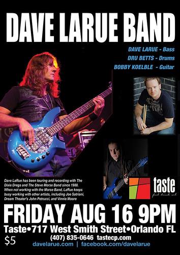 Dave Larue Band 8-16-13