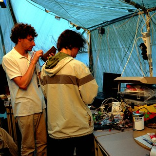 Electrolab at CCCamp 2011