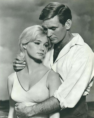 Yvette Mimieux and Rod Taylor