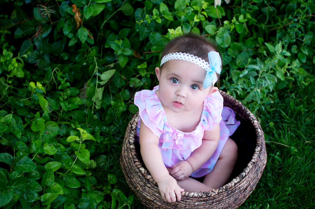 Miss E. 6 Months {Albuquerque Children's Photographer}