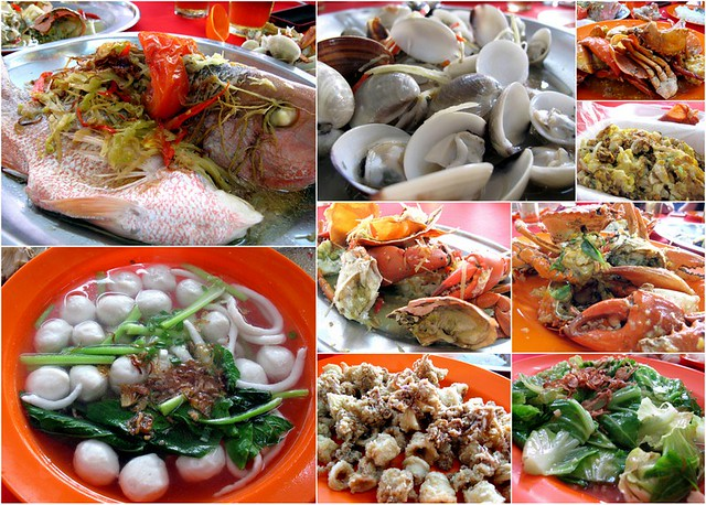 Pulau Ketam, Crab Island - seafood lunch