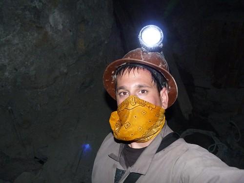 En el interior de las minas de Potosí (Bolivia)