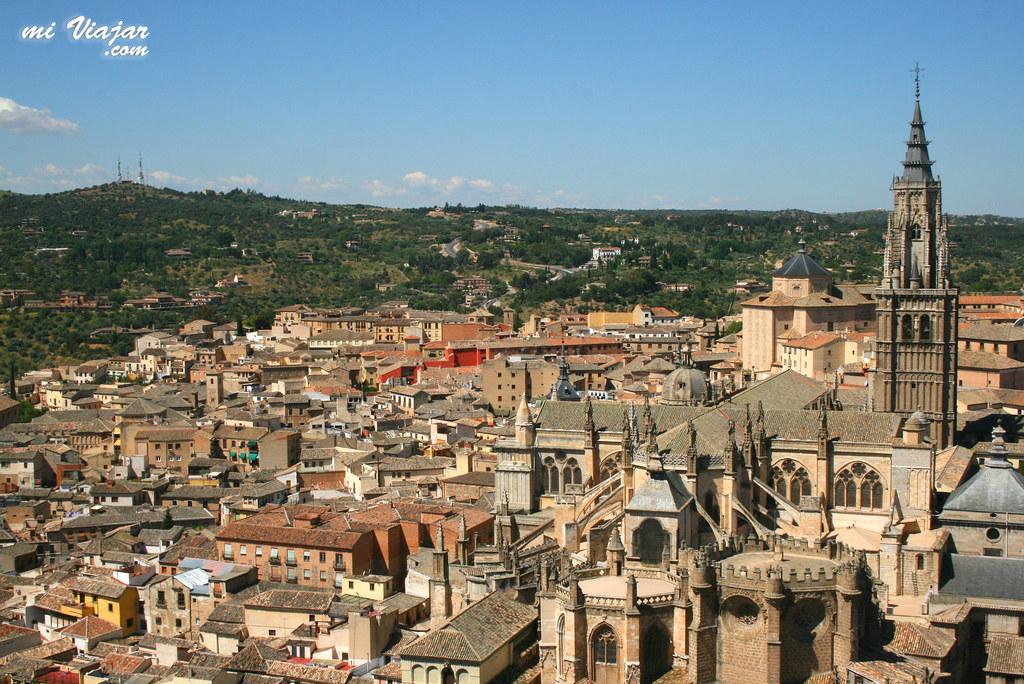 Vista desde el Alcázar, Toledo