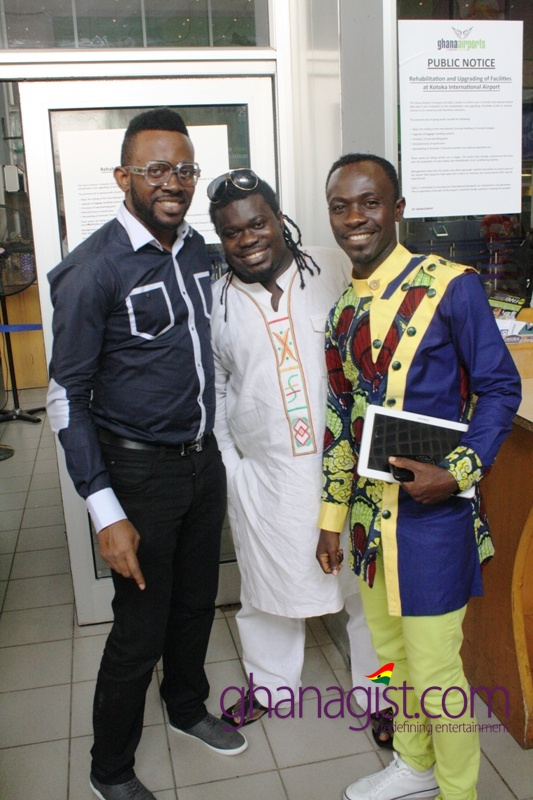 Okyeame Kwame and J Martins completes collaboration