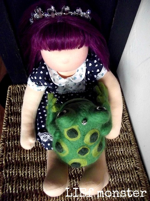 Princess Renette and her mister Frog