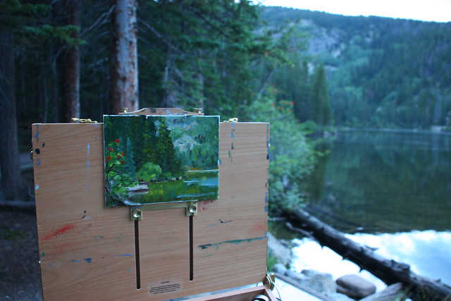 Plein Air at Bear Lake