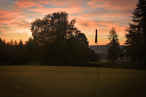 green club sunrise golf scotland 7th moray dufftown
