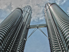 Petronas Twin Towers with some HDR Toning!!!