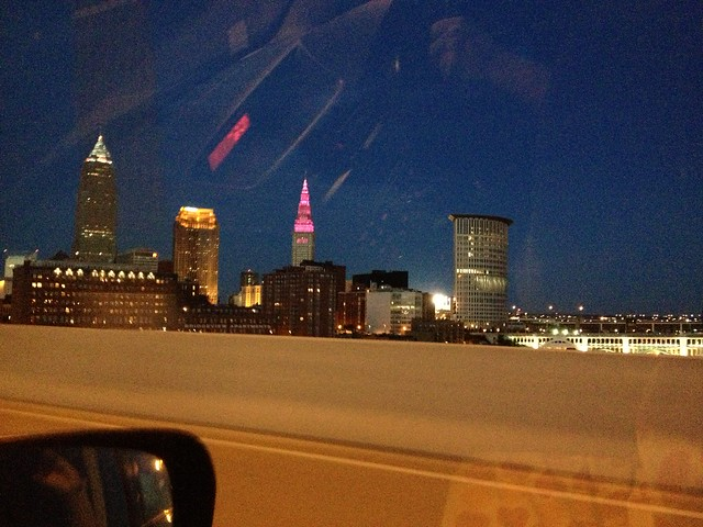 Terminal Tower Lights