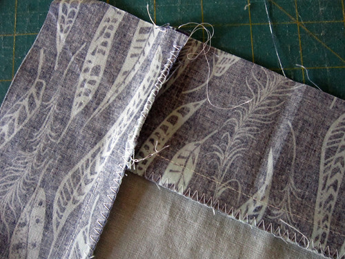 Sewing with linen