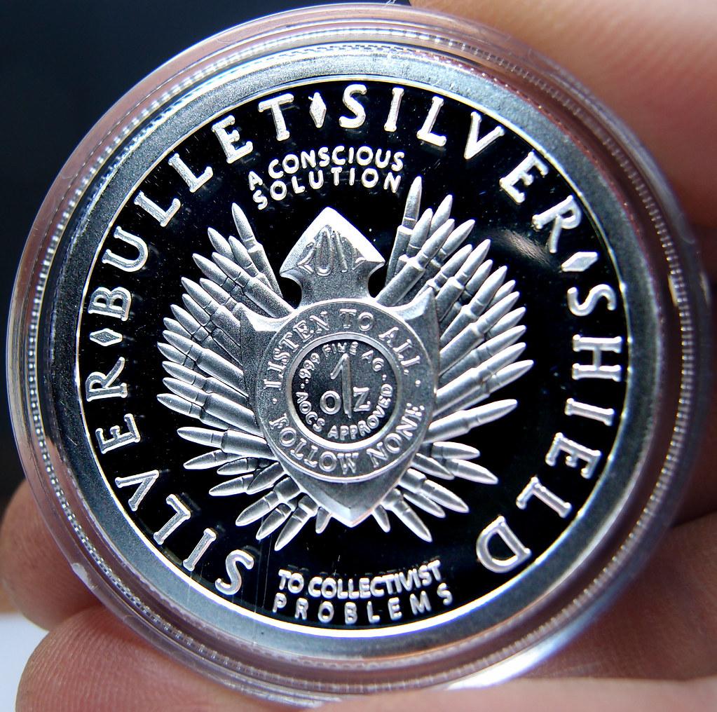 """Colección de onzas de plata """" Silver Bullets & Silver Shield"""" 10173844994_c015dee406_b"""