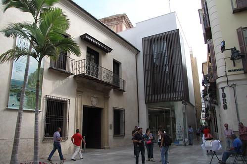 Fachada del Museo Carmen Thyssen en calle Compañía, 10