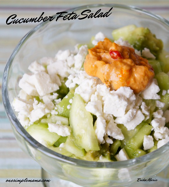 Cucumber Feta Salad