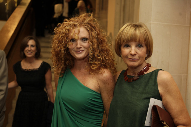 Anne Robinson and daughter Emma Wilson at the Man Booker Prize ceremony - c Janie Airey