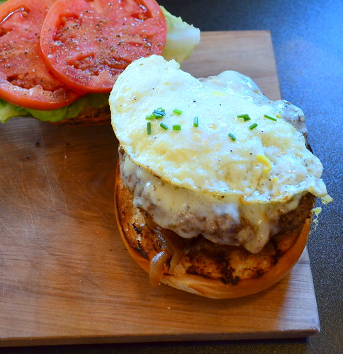 Bison Breakfast Burger