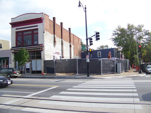 demolition of 1001 H Street NE