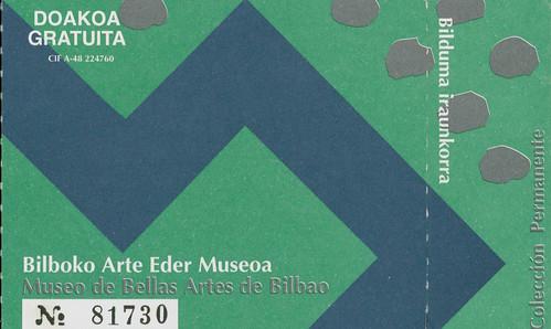 Bilbao Fine Arts Museum (2001?)
