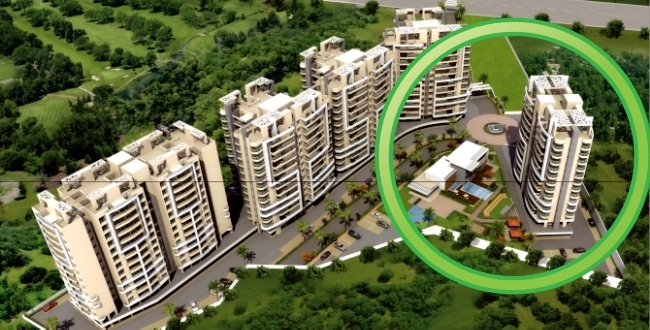 A Building of 4 BHK Flats in the Layout Plan of Metro Jazz, opposite VITS Hotel,  Mhalunge - Baner Annex, Pune