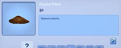 Cystal Plant