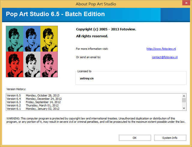 Pop Art Studio 6.5
