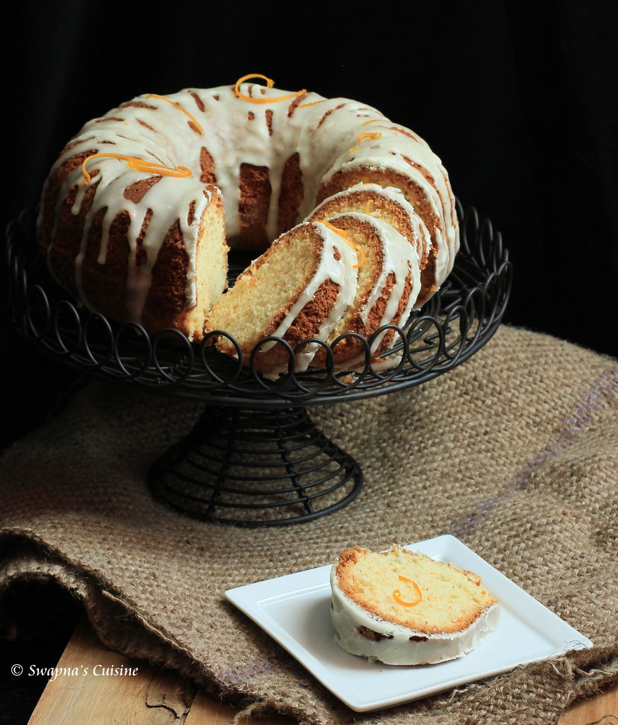 Orange Cardamom Bundt Cake Recipe
