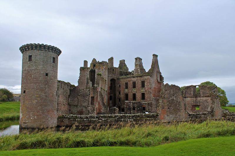 Caerlaverock ruinas
