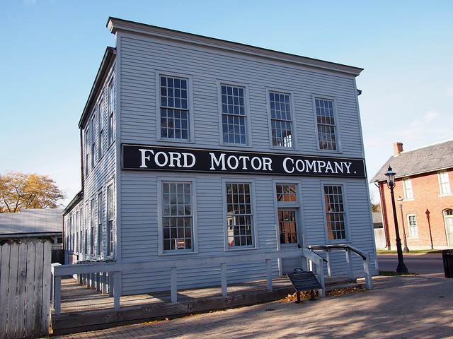 first ford motor company 1903 replica flickr photo