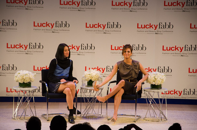 eva chen interviews eva mendes at lucky fabb conference 2013