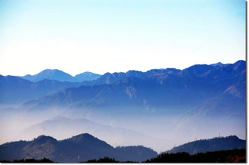 三叉峰環景(From 三叉峰營地,東至西南) 4