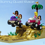 Friends Beach Bunny Quad Race