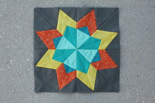 The 2014 Bonus Block for the Lucky Stars Block of the Month Club: The Blazing Star!