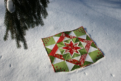 Christmas Star Quilt 1