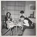 Gunnlis, Mona, Carl-Eric Lucia dagen 1952 hemma hos Torbjörnni Örebro