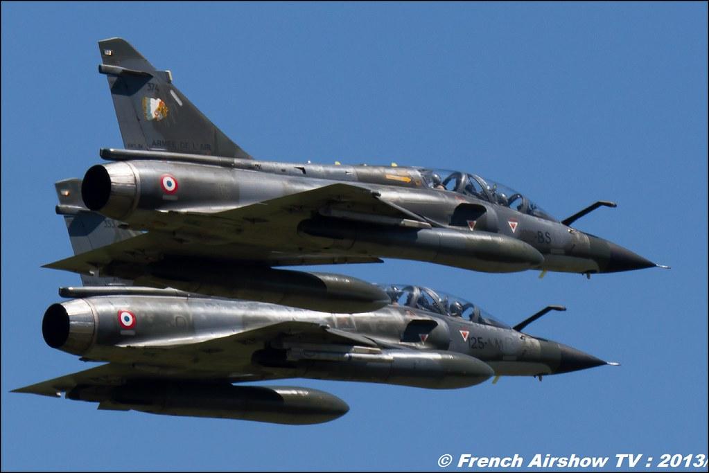 Ramex Delta Mirage 2000N, 60 ans Patrouille de France, Meeting Aerien 2013