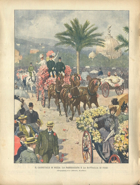 La Domenica del Corrieri, Nº 10, 11 Março 1900 - contra-capa