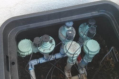 Sprinklers repaired and robustly reboxed