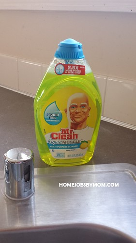 Parent Cleaning Resolutions for the New Year + A Glimpse into Mr. Clean Liquid Muscle